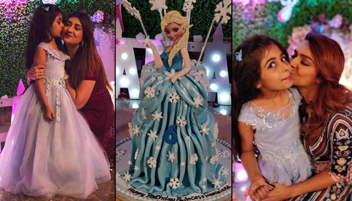 Juhi Parmar Throws A 'Frozen-Themed' Birthday Bash For Daughter, Samairra On Her 6th Birthday [Pics]