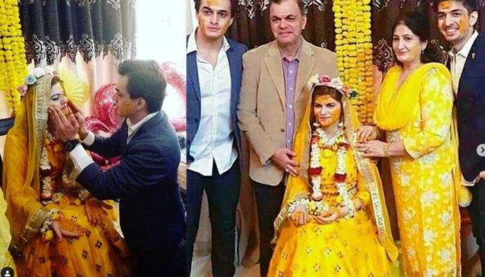 Mohsin Khan Welcomes 2019 With His Sister's 'Haldi' Ceremony, Looks Way Too Happy (Pics Inside)