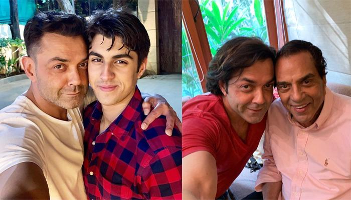 Bobby Deol's Selfie With Son, Aryaman Deol Is Making Netizens Ask, 'Dharam Ji, Is That You?'