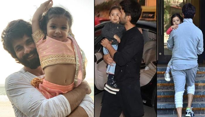 Shahid Kapoor Takes Daughter Misha Kapoor On 'Baby's Day Out' Sans Mira Kapoor And Zain Kapoor