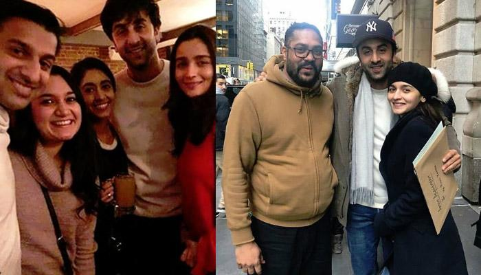 Alia Bhatt And Ranbir Kapoor Explore New York Together, Click Happy Snaps With Their Fans