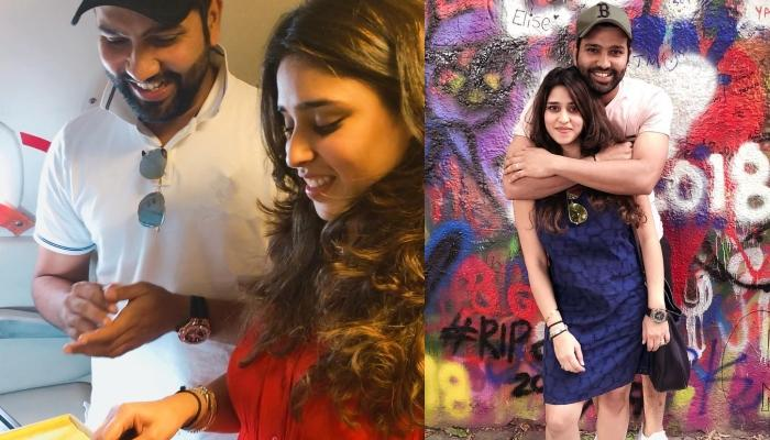 Rohit Sharma Shares The First Photo Of His Baby Girl And Wishes A Happy New Year To Fans, Pic Inside