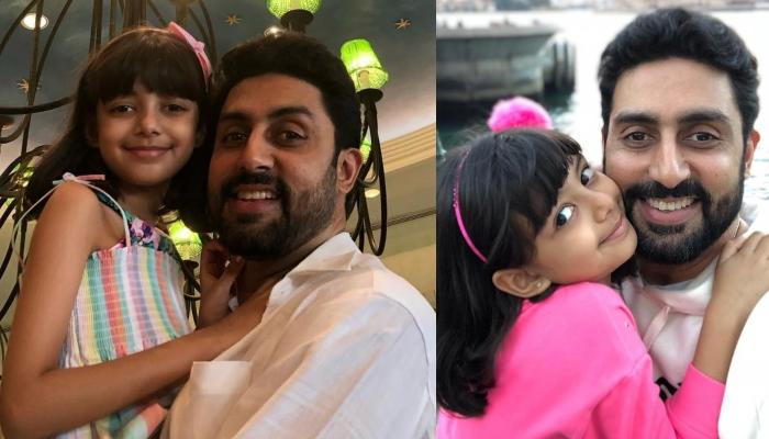 Abhishek Bachchan Shares A Super-Adorable Picture With His Little Star Aaradhya Bachchan