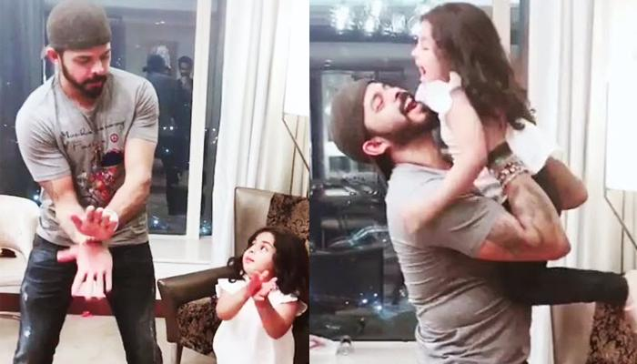 Sreesanth And His Daughter, Sanvika's Dancing Video Is The Cutest Thing On Internet Today