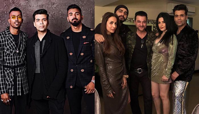 Karan Johar Accidentally Reveals That Arjun-Malaika Are Dating, Consoles KL Rahul's 'Crush-Break'