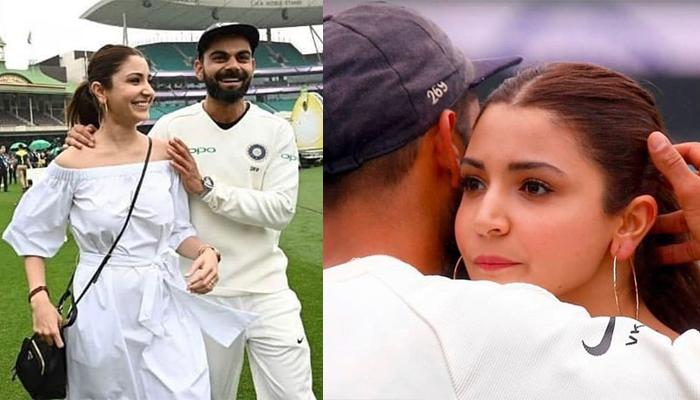 Anushka Sharma Hugs Virat Kohli On The Fields For The First Time After India's Historic Win