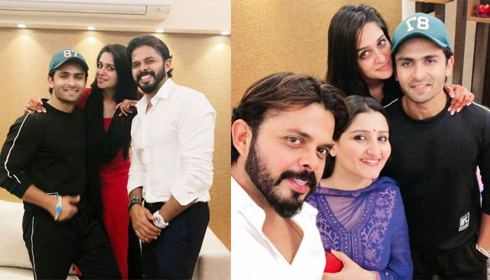 Sreesanth And His Wife, Bhuvneshwari Visit His Sister, Dipika Kakar's Home, It's Pure Sibling Love