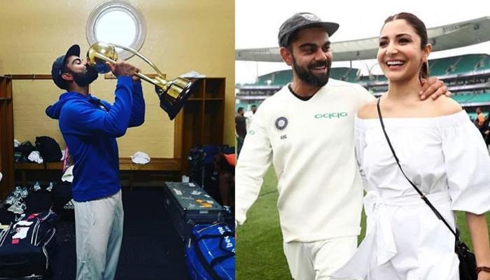 Virat Kohli And Anushka Sharma Celebrate India's Historic Victory Against Australia, Pictures Inside