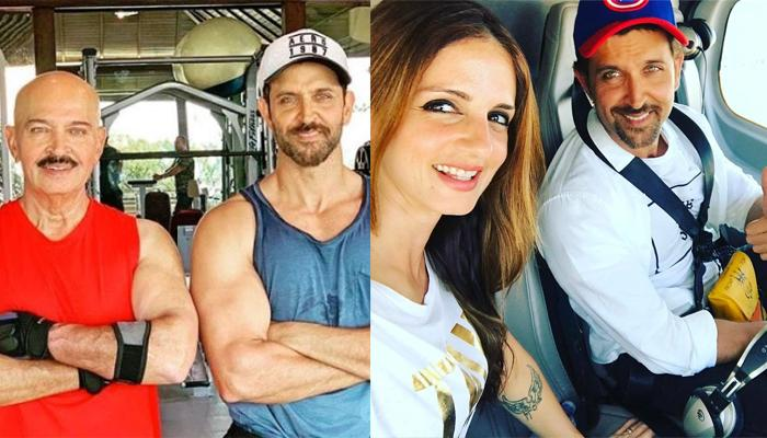 Hrithik Roshan's Ex-Wife, Sussanne Khan Comments On His Post About Rakesh Roshan's Cancer