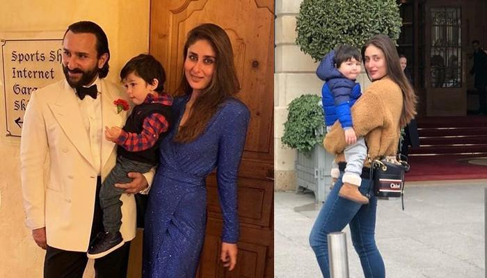 Taimur Ali Khan And Kareena Kapoor Khan's 'Love In Paris' Photo Is Every Bit Cutesy And Unmissable