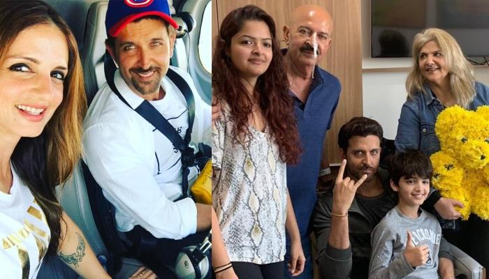 Hrithik Roshan Turns 45, Pinky Roshan Shares A Family Picture With Rakesh Roshan After Surgery