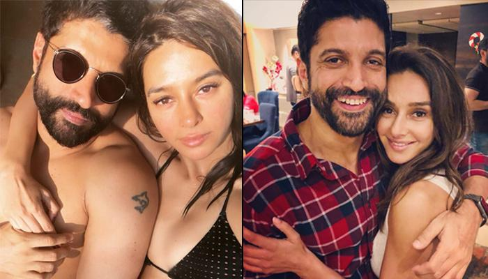 Farhan Akhtar Finally Confirms His Love For GF Shibani Dandekar, She Joins Him For His Birthday Bash