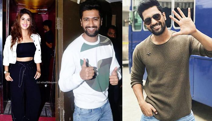 Vicky Kaushal's Alleged Girlfriend Harleen Sethi Supports Him At The Special Screening Of Uri [Pics]