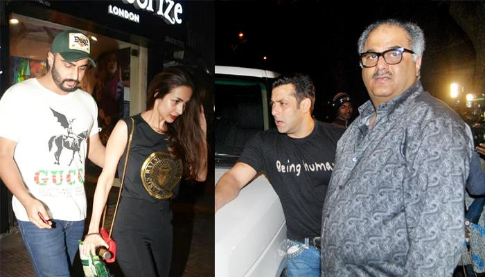 Salman Khan Has Banned Boney Kapoor From Entering His House Due To Arjun Kapoor-Malaika Arora?