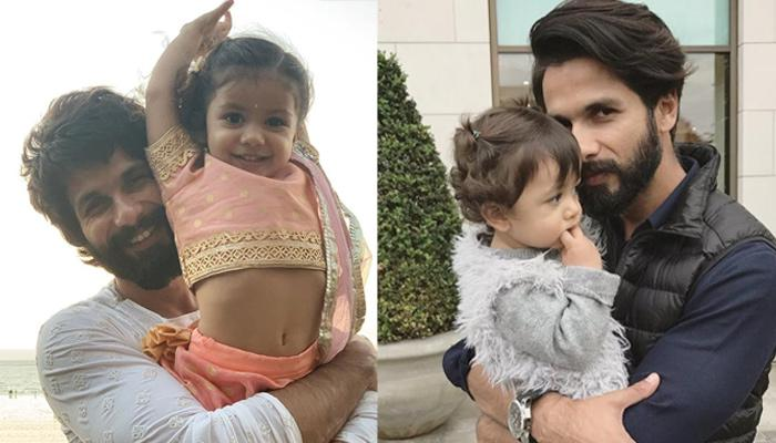 Shahid Kapoor Takes Daughter Misha Out On A Bike Ride, He Can't Stop Looking At Her Innocent Face
