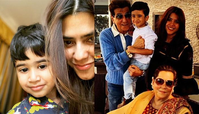 First Picture Of Ekta Kapoor's Son, Ravie And Tusshar's Son, Laksshya Shows They Can't Wait To Play