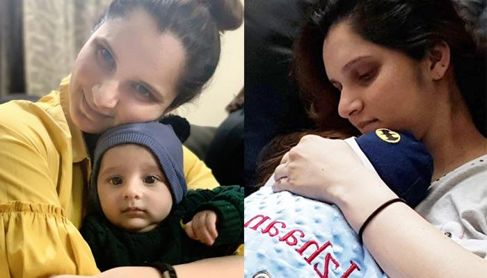 Sania Mirza's 3-Month-Old Son Izhaan Is Lost In Deep Thoughts In The New Picture, Check Inside