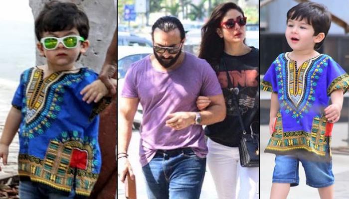 Kareena Kapoor And Saif Ali Khan Take Taimur On A Lunch Date, Baby Tim Gives 'Dum Maaro Dum' Feels