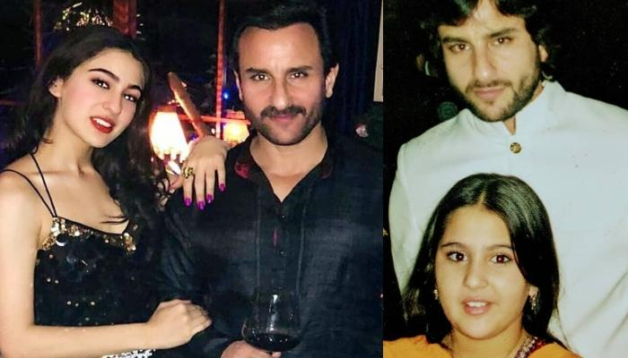 Sara Ali Khan And Her Abba Saif Ali Khan's Throwback Picture From A Wedding Is Father-Daughter Goals