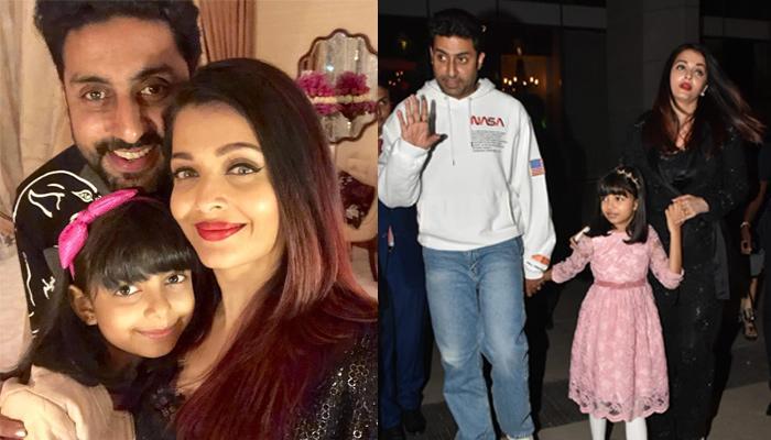 Abhishek Bachchan Goes Out On A Family Dinner On Birthday With Aishwarya, Aaradhya, Amitabh, Shweta