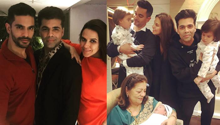 Neha Dhupia Shares An Adorable Birthday Message For Karan Johar's Twins, On Behalf Of Daughter Mehr