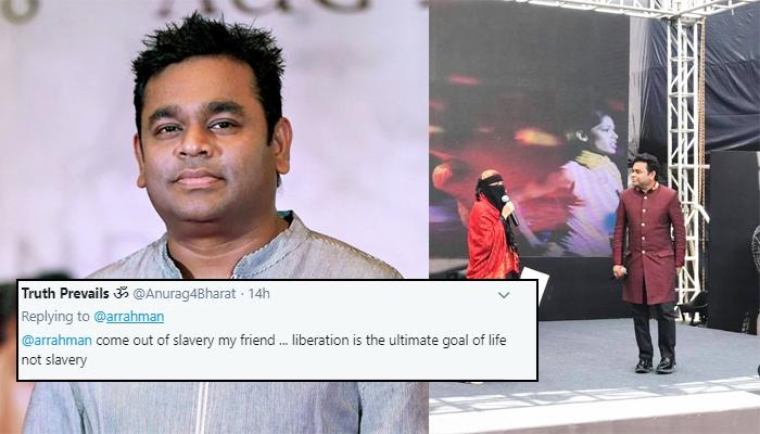 AR Rahman's Daughter, Khatija Trolled For Wearing Burqa, He Slams The Hate Brigade With Epic Reply