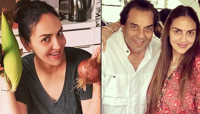 Esha Deol Enjoys The 'Perks Of Pregnancy', Dharmendra Sends Her Hand-Picked Veggies From Their Farm