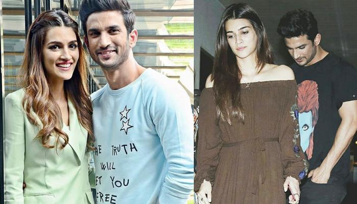 Kriti Sanon Comments On Her Relationship Status With Sushant Singh ...