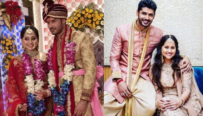 'Nimki Mukhiya' Fame Abhishek Sharma Gets Married To Apeksha Dandekar, Pictures Inside