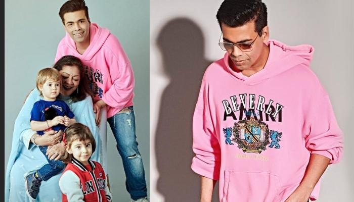 Karan Johar Shares Unseen Family Picture From Yash And Roohi's Second Birthday Bash