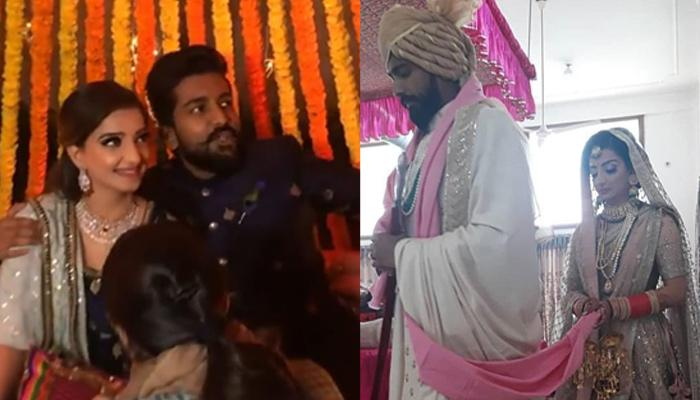 Saath Nibhaana Saathiya Star Lovey Sasan Gets Married To Fiance, Koushik In A Dreamy Wedding [Pics]