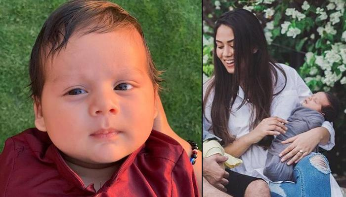 Mira Rajput Kapoor Takes Little Dumpling Zain Kapoor On Sunset Walk, Mommy-Son Gaze The Sun Go Down