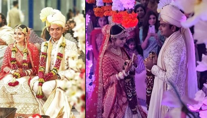 Palak Jain And Tapasvi Mehta Get Married In Traditional Ceremony, Pics Of Newly-Wedded Couple Inside