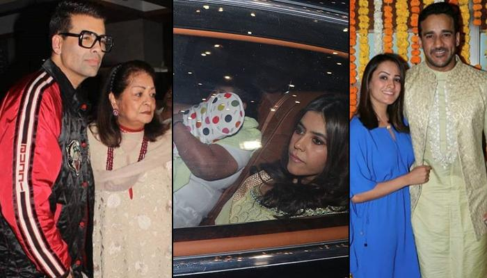 Ekta Kapoor Hosts Naamkaran Ceremony For Newborn Son Ravie Kapoor, Celebs Arrived To Bless The Baby
