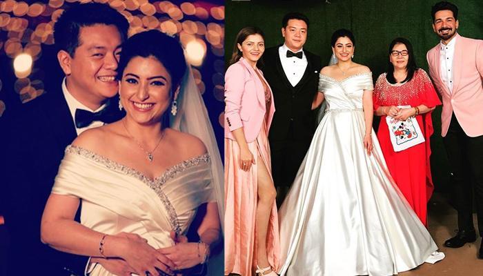 'Baa Bahoo Aur Baby' Actress Benaf Dadachandji Gets Married To Her Long-Time Boyfriend, Norman Lou