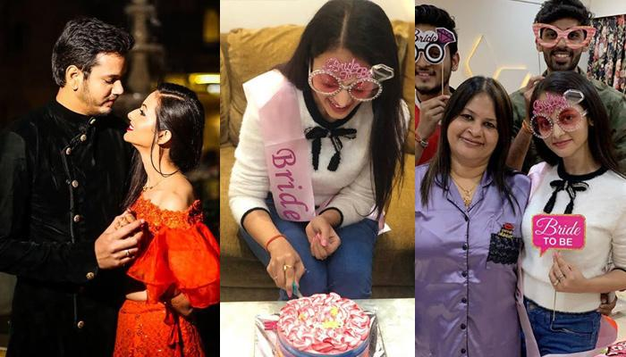 Karmphal Data Shani Star Kajol Srivastava Gets A Surprise Bachelorette Bash Ahead Of Her Feb Wedding