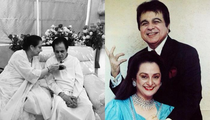 Dilip Kumar, 96, Shares A Pic With Wife, Saira Banu, 74, Feeding Him Cake, And It's So Adorable