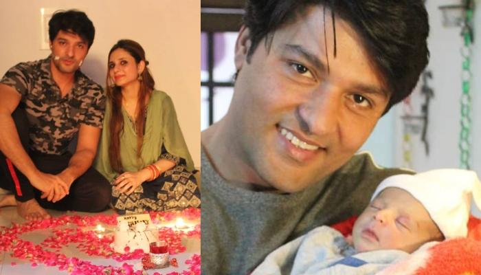 'Diya Aur Baati Hum' Fame Anas Rashid Shares The First Picture Of His Baby Girl