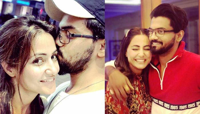 Hina Khan Bakes A Lovely Star-Shaped Cake For Birthday Boy Rocky Jaiswal, Picture Inside