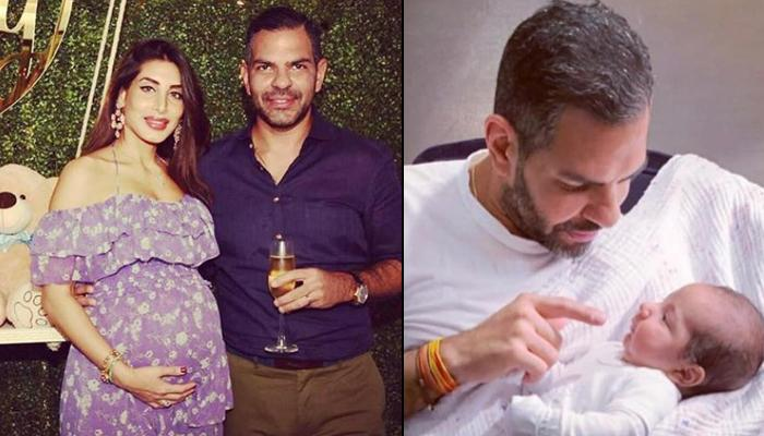Karisma Kapoor's Ex Husband Sunjay Kapur's Wife Priya Sachdev Shares First Pics Of Their Newborn Son