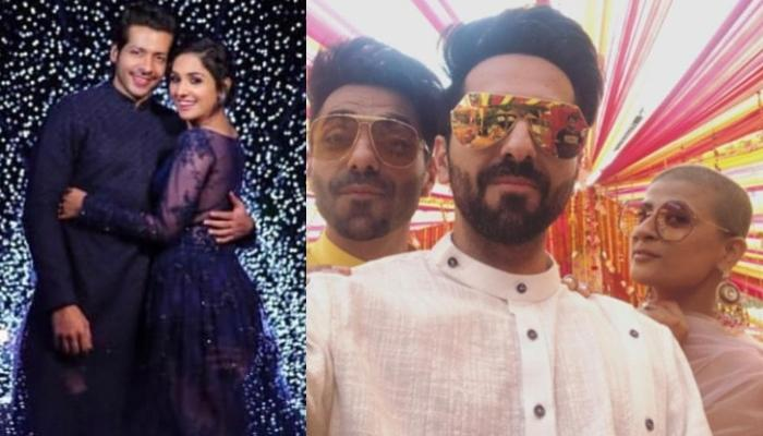 Ayushmann Khurrana And Tahira Kashyap Attend The Mehendi Celebration Of Neeti Mohan, Pictures Inside