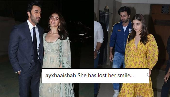 Ranbir Kapoor And Alia Bhatt At Special Screening Of 'Gully Boy', Fans Say She Doesn't Look Happy