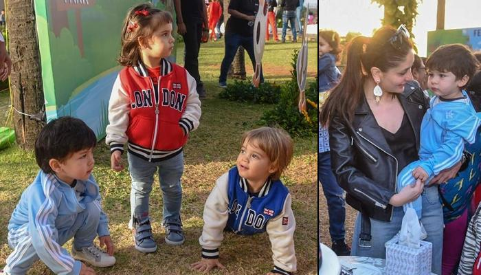 Unseen Pics Of Taimur Ali Khan From Karan Johar's Twins Yash And Roohi Johar's Second Birthday Bash