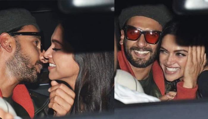 Ranveer Singh Kisses And Hugs Deepika Padukone In Front Of Fans At 'Gully Boy' Screening