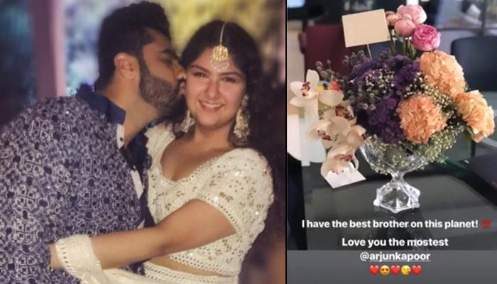 Arjun Kapoor's Surprise For Sis Anshula Kapoor On Valentine's Day Is Giving The #BestBrother Alert