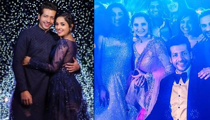 Neeti Mohan And Nihaar Pandya's First Look From Their Sangeet-Cum-Engagement Ceremony, Pics Inside