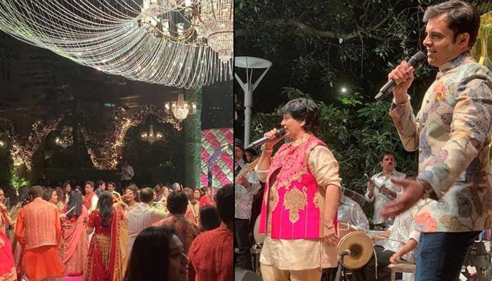 Akash Ambani-Shloka Mehta's Pre-Wedding Celebrations Begin With Falguni Pathak's Special Performance