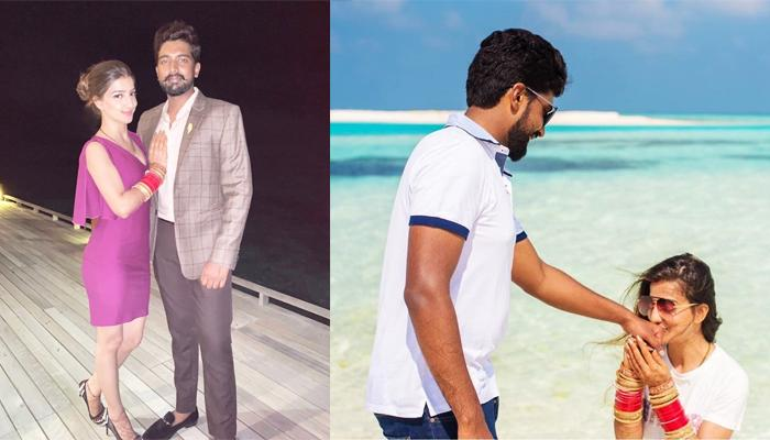 Saath Nibhaana Saathiya Actress, Lovey Sasan And Koushik Are Honeymooning In The Maldives, [Pics]