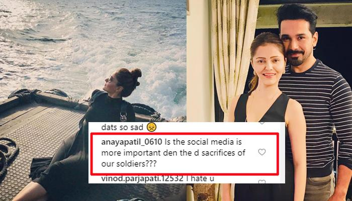 Abhinav Shukla's Befitting Reply To A Fan When Wife, Rubina Dilaik Was Trolled After Pulwama Attack