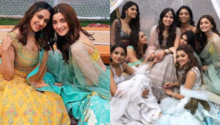Alia Bhatt Paints The Sky Blue As She Turns Bridesmaid For Her Best Friend's Wedding